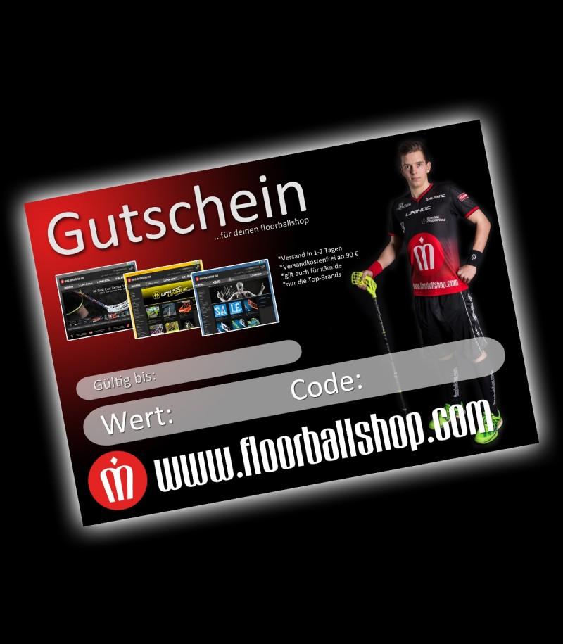 floorballshop.com Gutschein 100 Euro