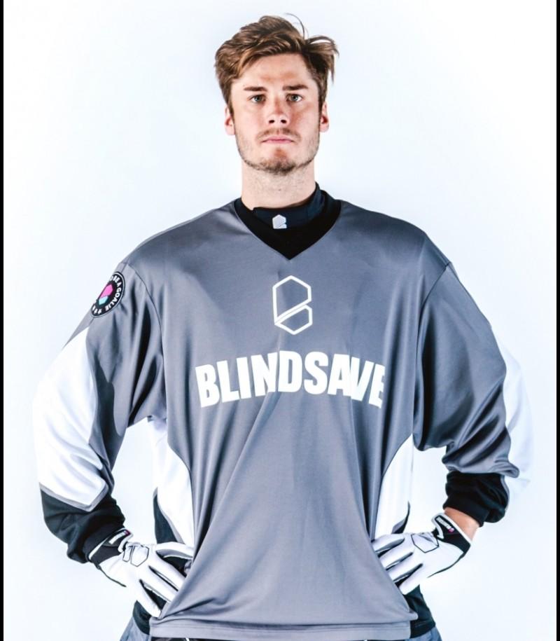 Blindsave Goalie Jersey Confidence Grau