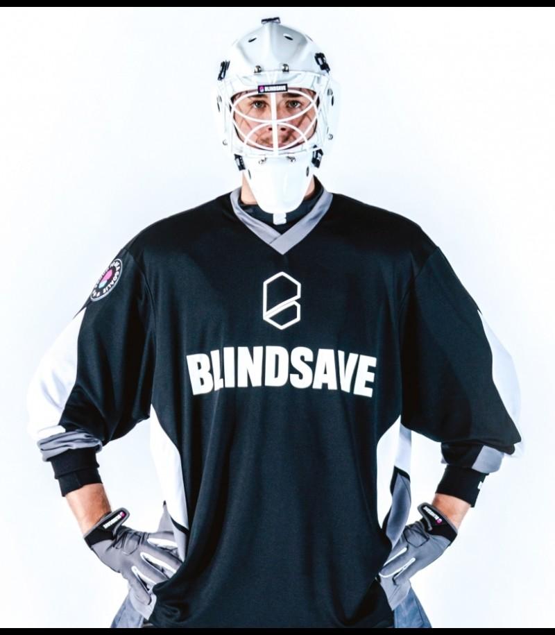 Blindsave Goalie Jersey Confidence Schwarz