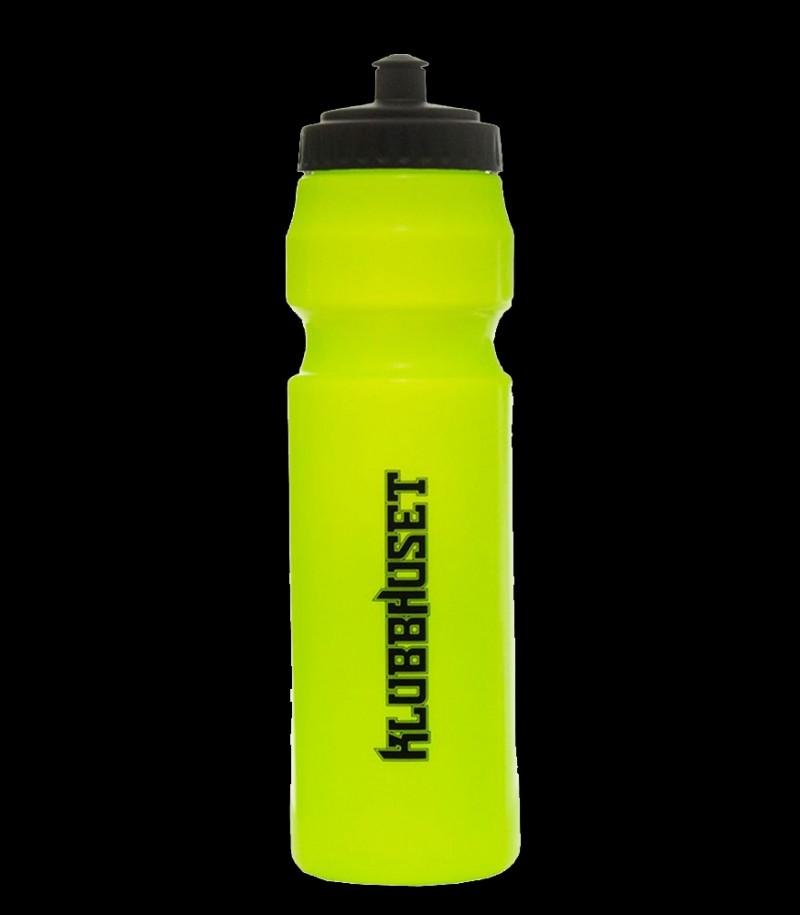 Klubbhuset Trinkflasche Neongelb