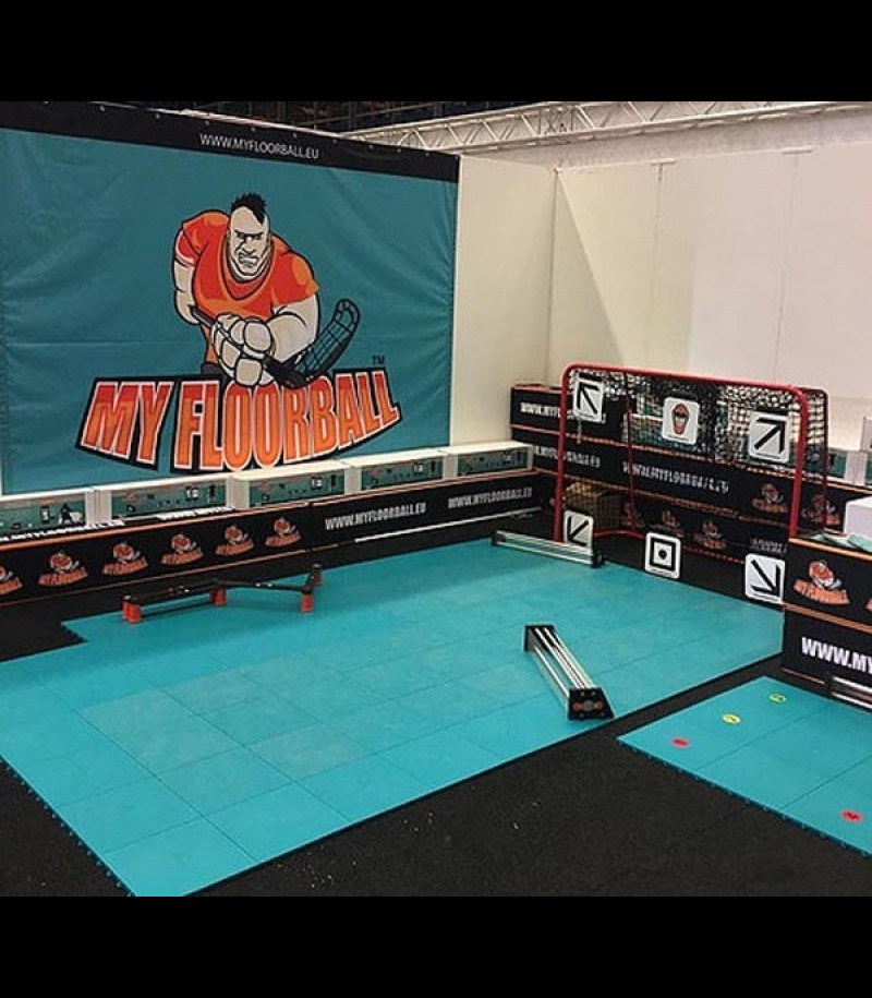 #STAYHOME MyFloorball Flooring Boden (18 Stück)