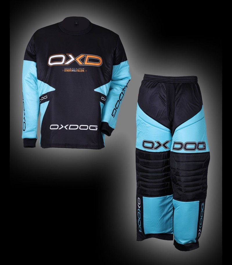 Oxdog Goalieset Vapor Junior Tiff Blue