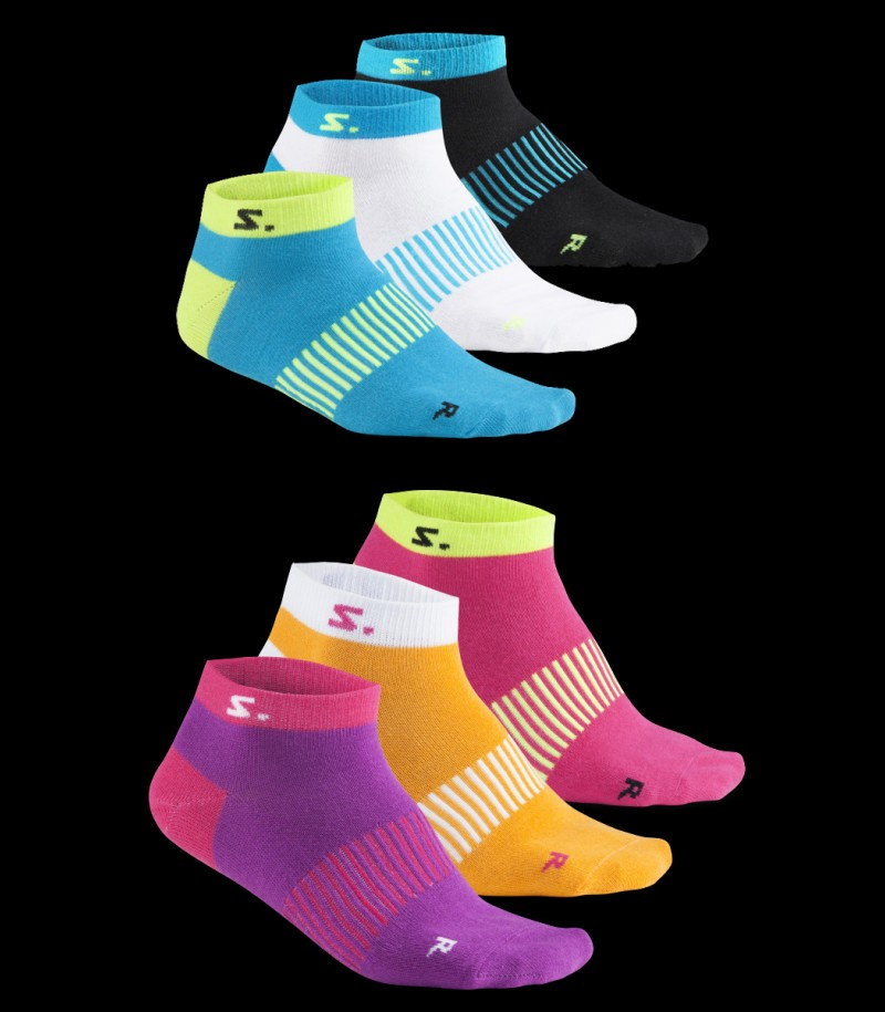 Salming Run Ankle Sock - 3er Pack