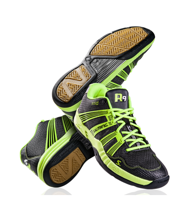 Salming Indoor Floorball Schuh Race R9 Mid