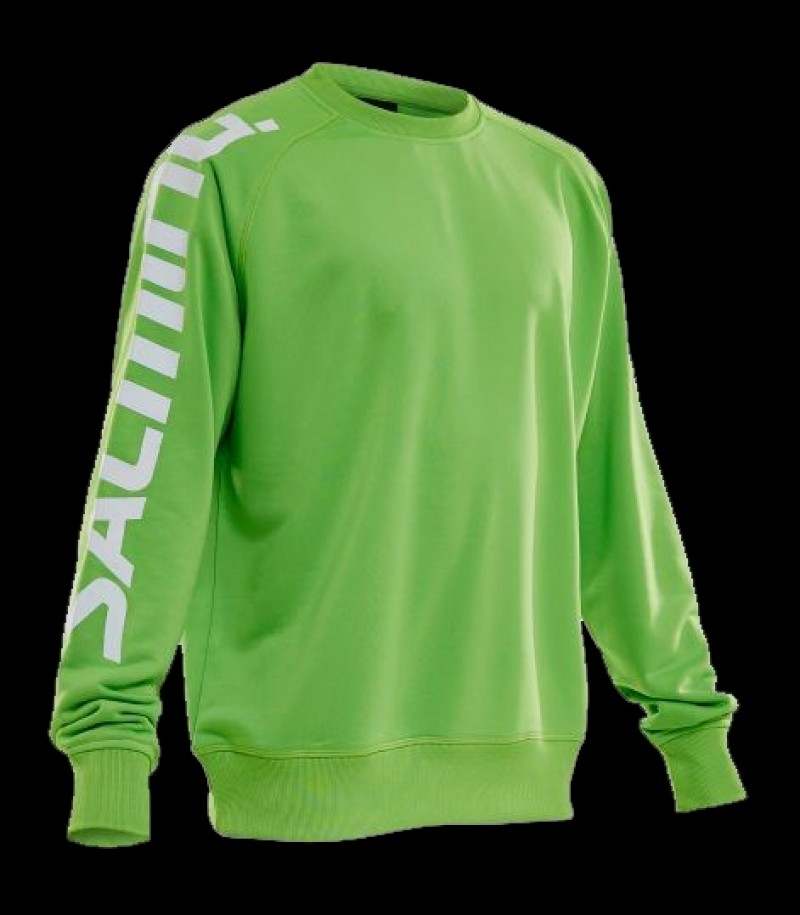 Salming Warm-Up Jersey Lime