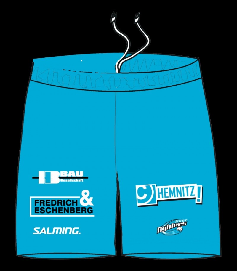 Salming Core Shorts FLOOR FIGHTERS Blue