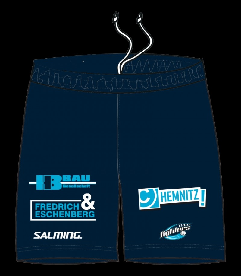 Salming Core Shorts FLOOR FIGHTERS Navy
