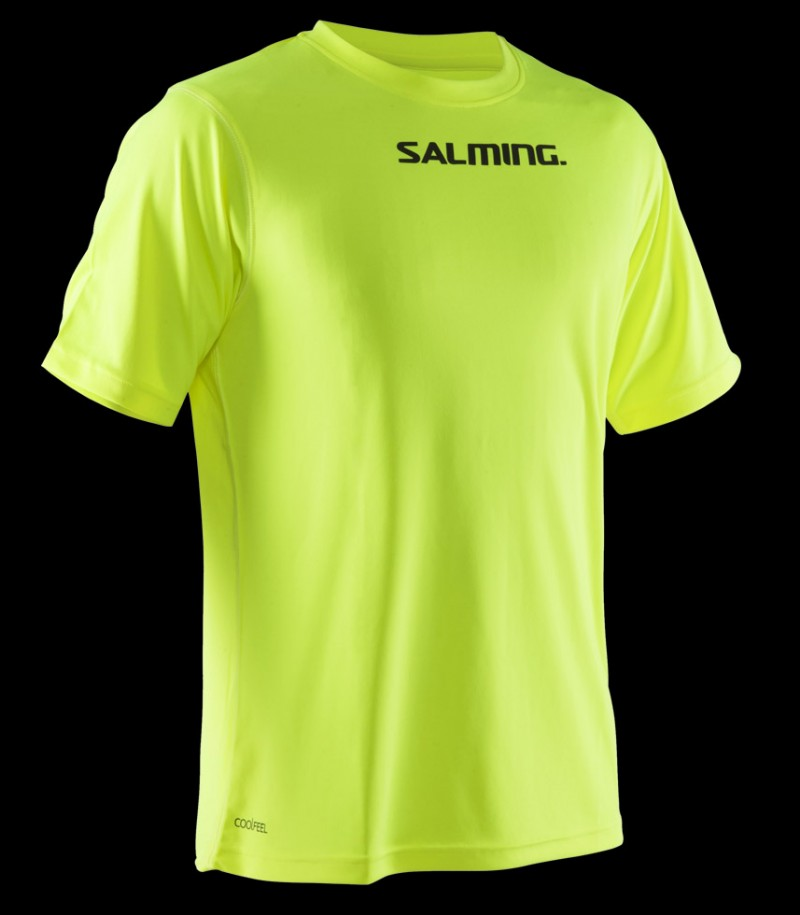 Salming Focus Tee Safety Yellow