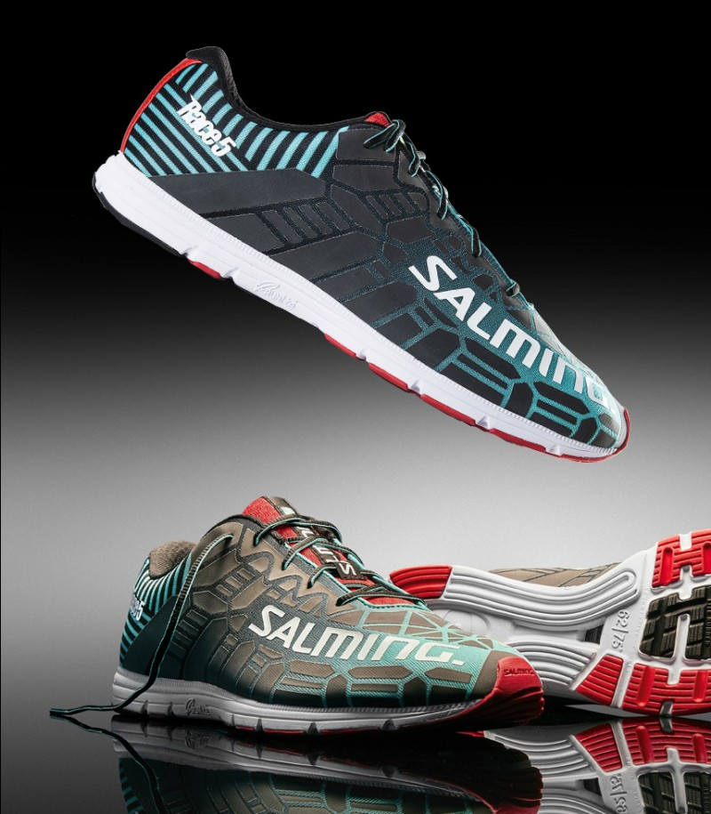 Salming Race 5 Laufschuh Ceramic Green