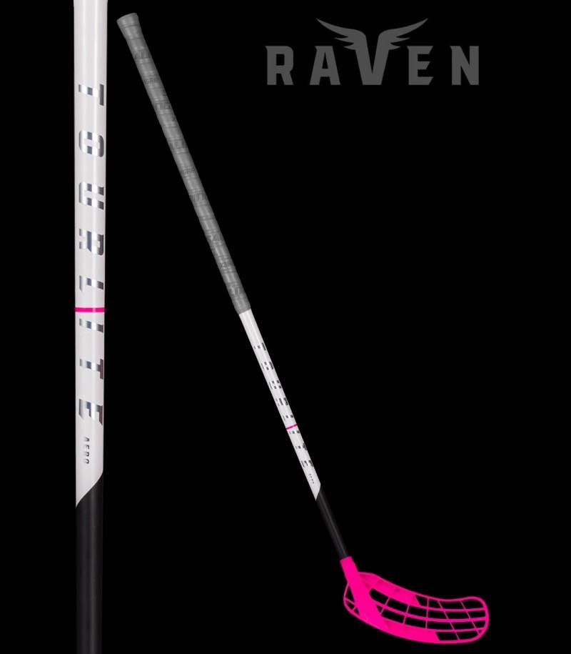 Salming Raven Tourlite Aero Oval 27 Grau/Pink
