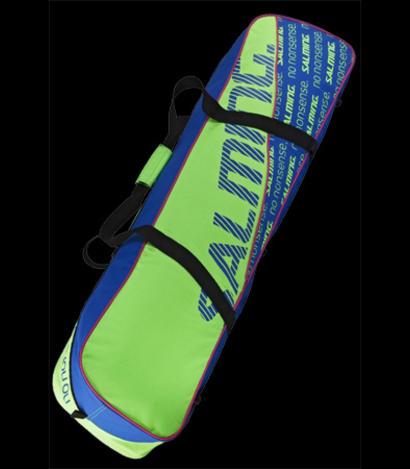 Salming Tour Toolbag Junior GeckoGreen/Royal