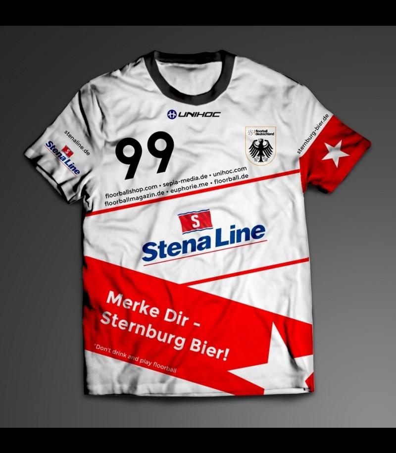 Offizielles Trikot Floorball Deutschland Nationalmannschaft - Home
