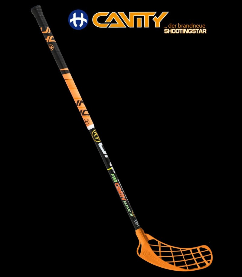 unihoc Cavity Curve 1.5° 32 Junioren Floorball Stock