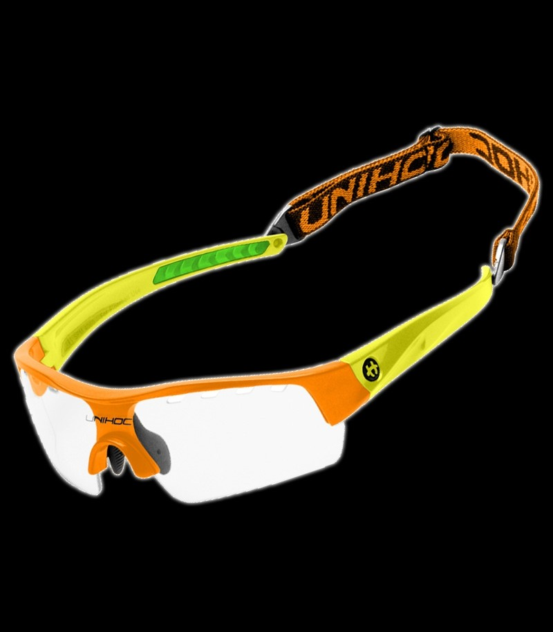 unihoc Sportbrille Cavity Youngster Kids neon