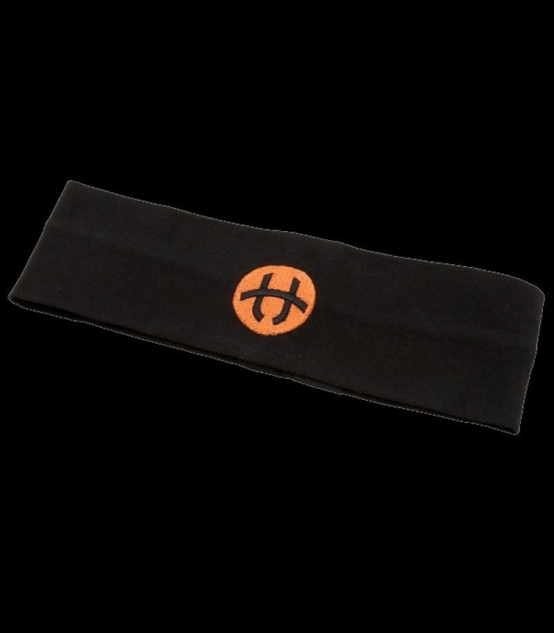 unihoc Headband Badge Mid Schwarz