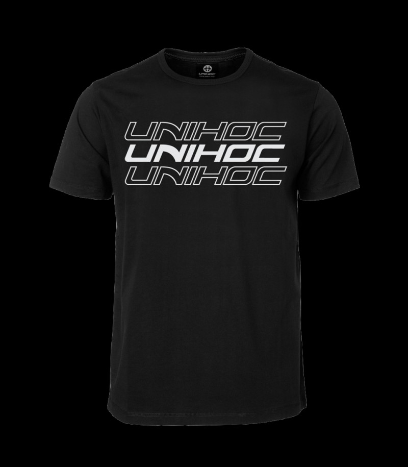 unihoc T-Shirt Triple - Black