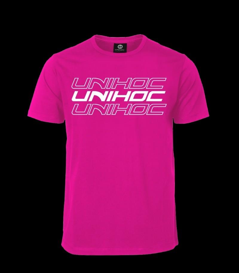 unihoc T-Shirt Triple - Magenta