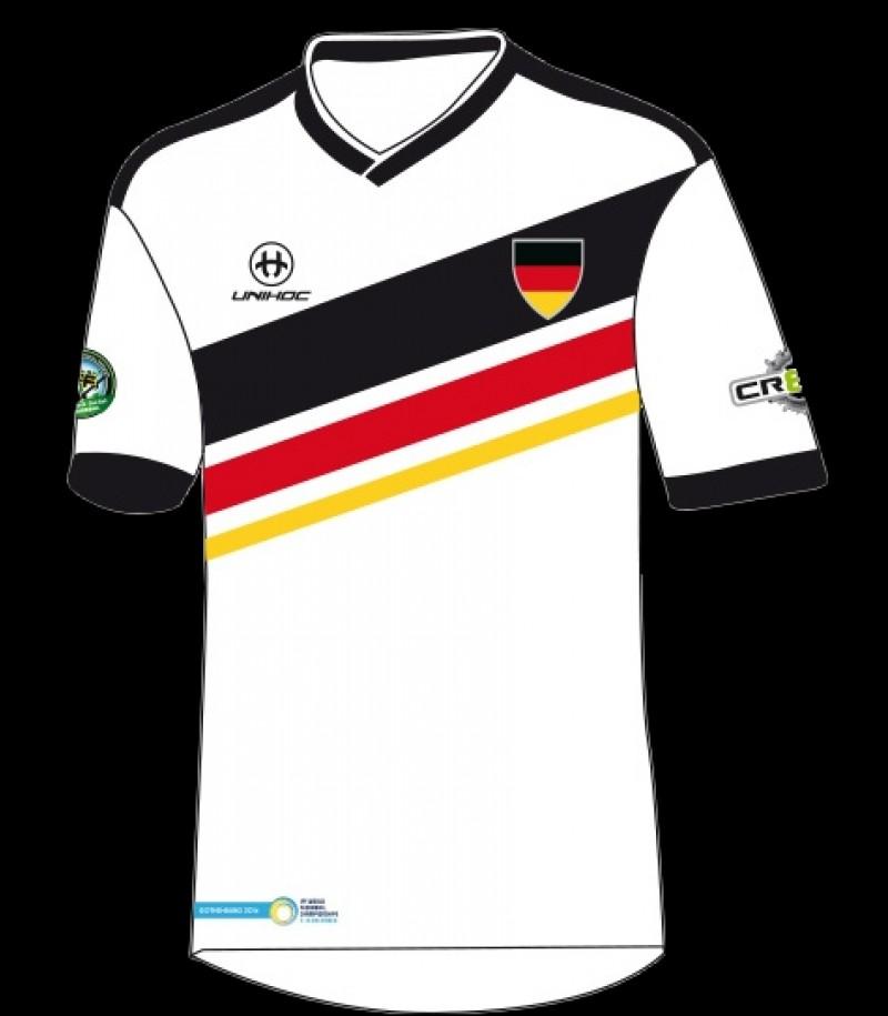 unihoc WFC Trikot Deutschland Weltmeisterschaft