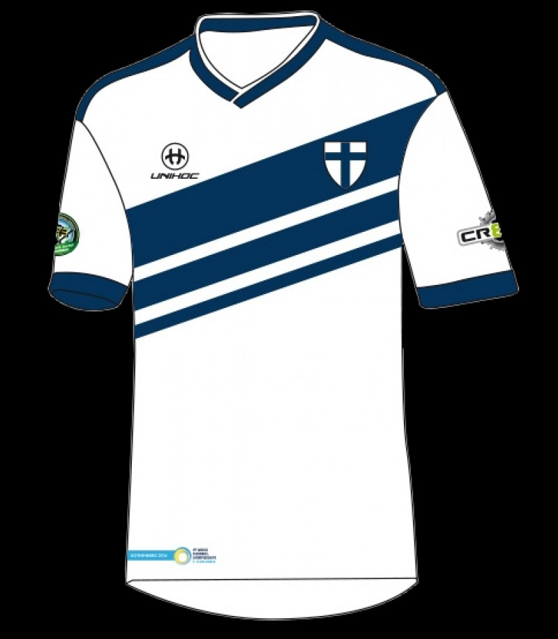 unihoc WFC Trikot Weltmeisterschaft Finnland