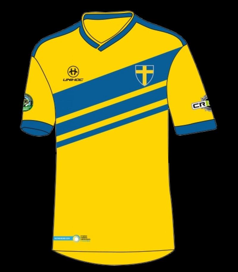 unihoc WFC Trikot Weltmeisterschaft Schweden