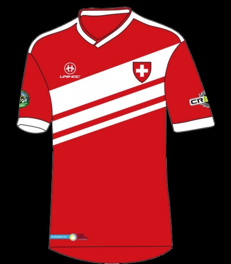 unihoc WFC Trikot Weltmeisterschaft Schweiz