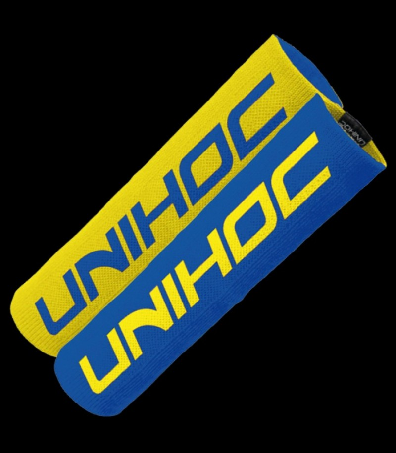 unihoc Schweißband Maximus blau-gelb
