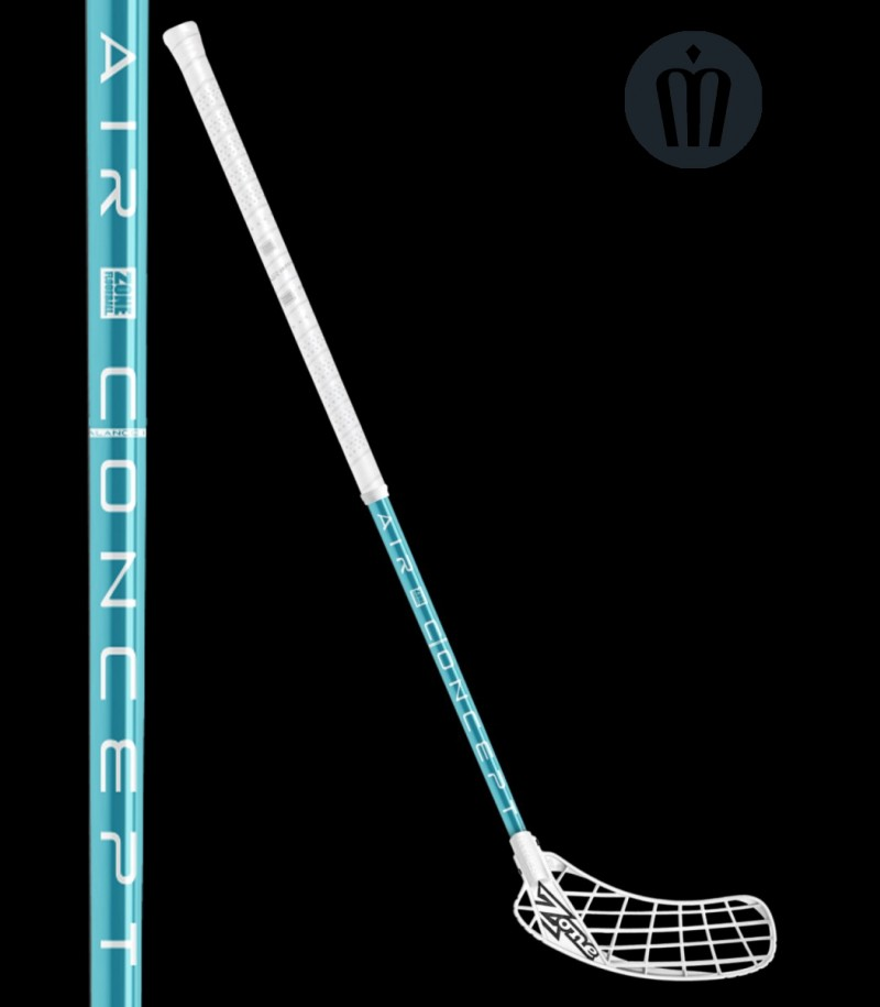 Zone Hyper Air 29 Weiss/Türkis floorballshop Edition
