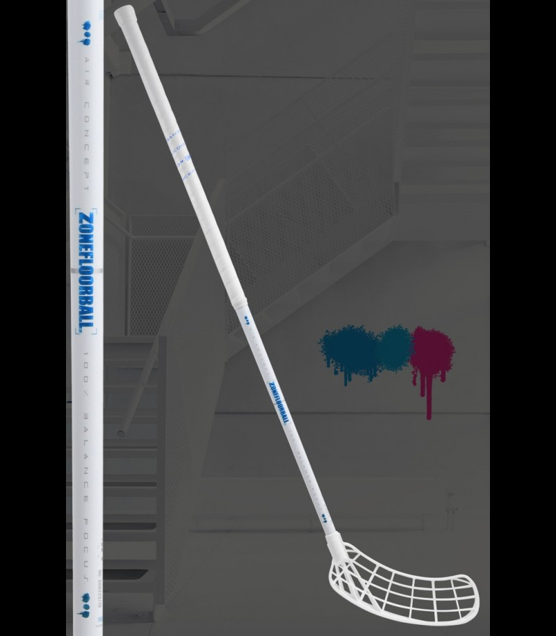 Zone Hyper Air SL F26 White Line Weiss/Blau