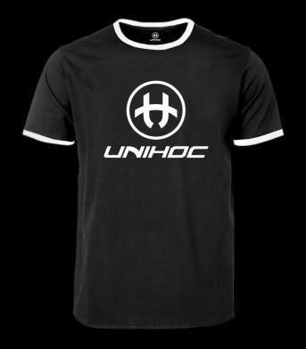 unihoc T-Shirt Breeze Schwarz