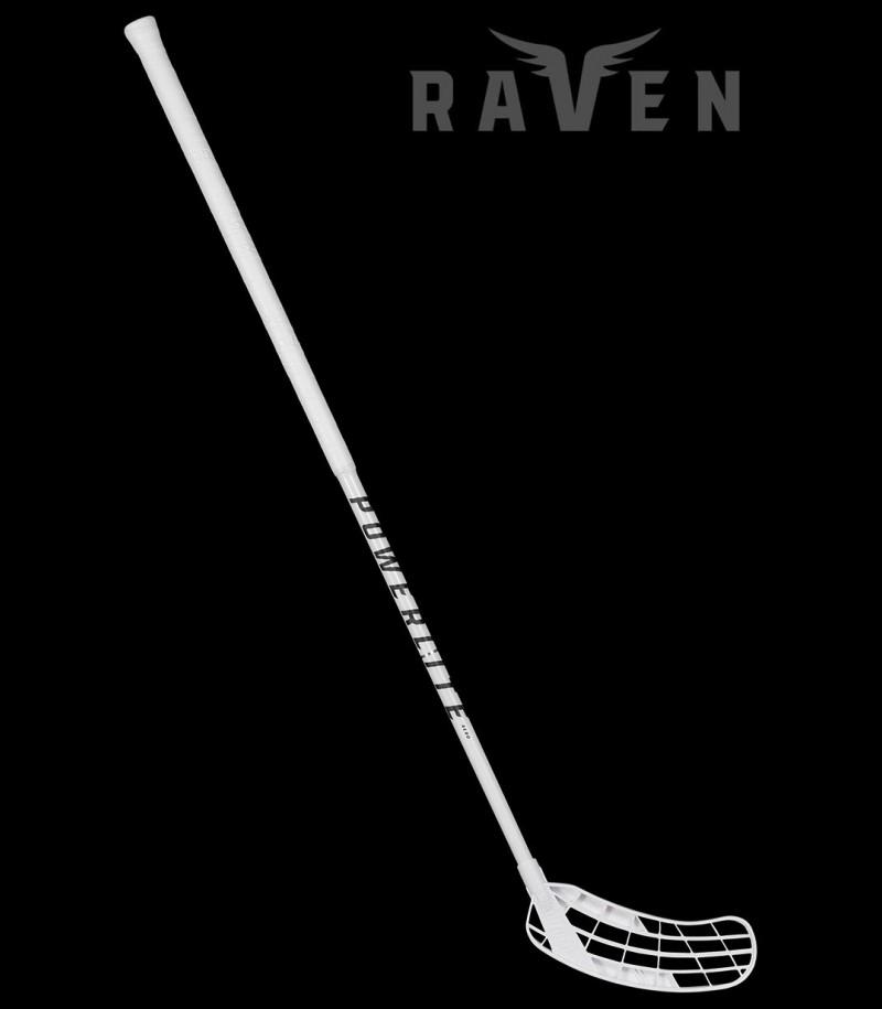 Salming Raven PowerLite Aero 29 Weiss/Schwarz