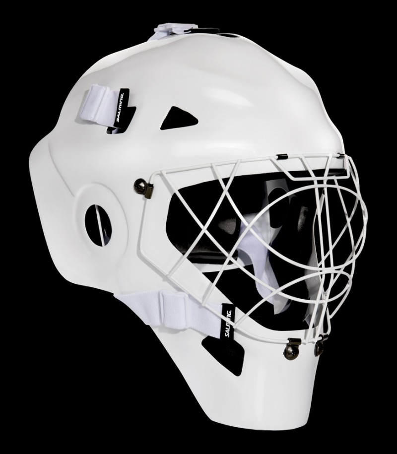 Salming Goaliemaske CarbonX White