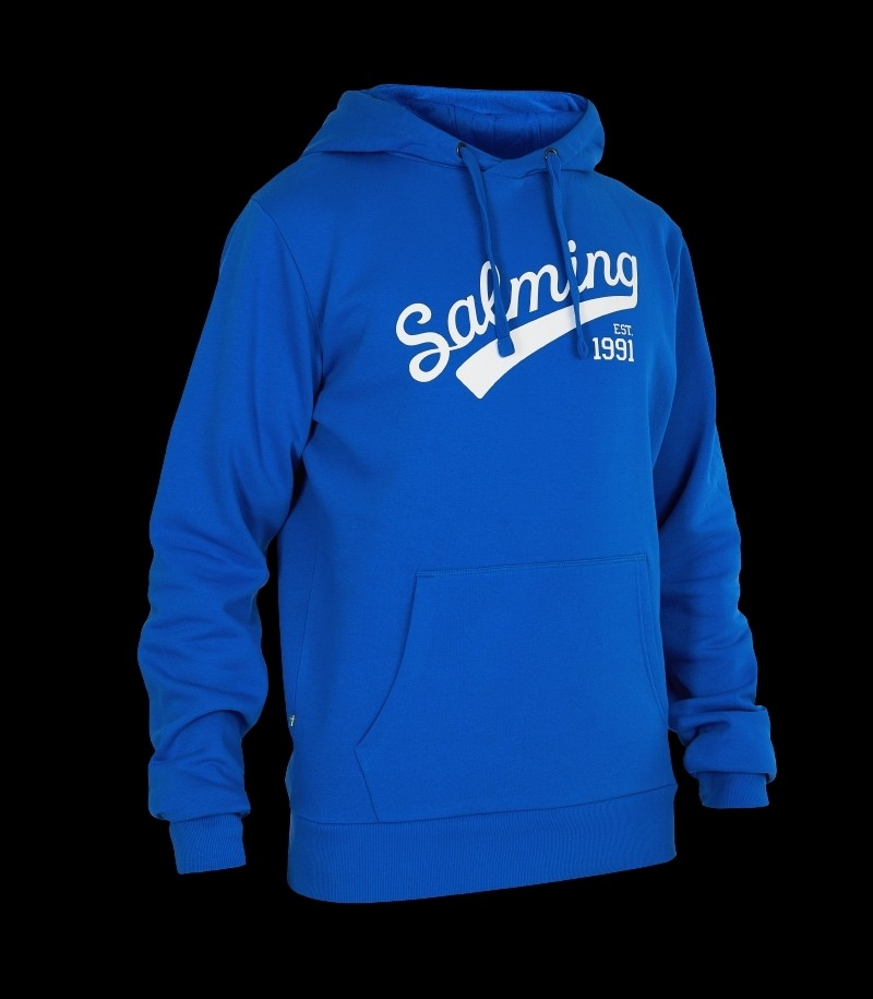 Salming Logo Hood Royal Blue