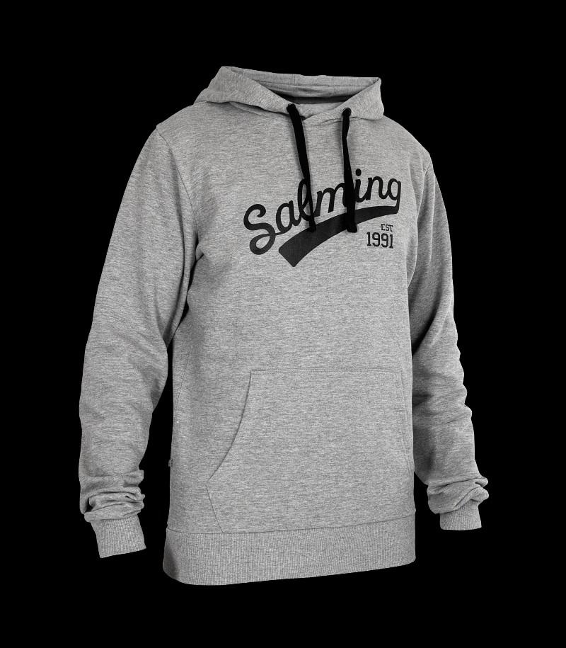 Salming Logo Hood Grey Melange