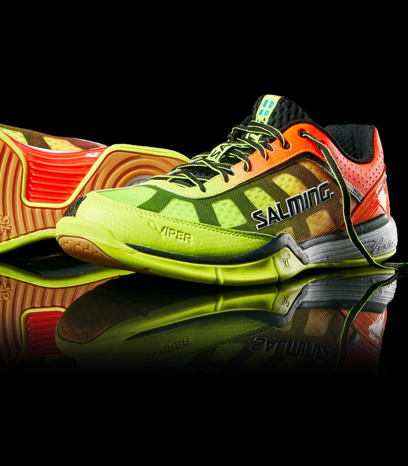 Salming Viper Men 4 Yellow/Orange