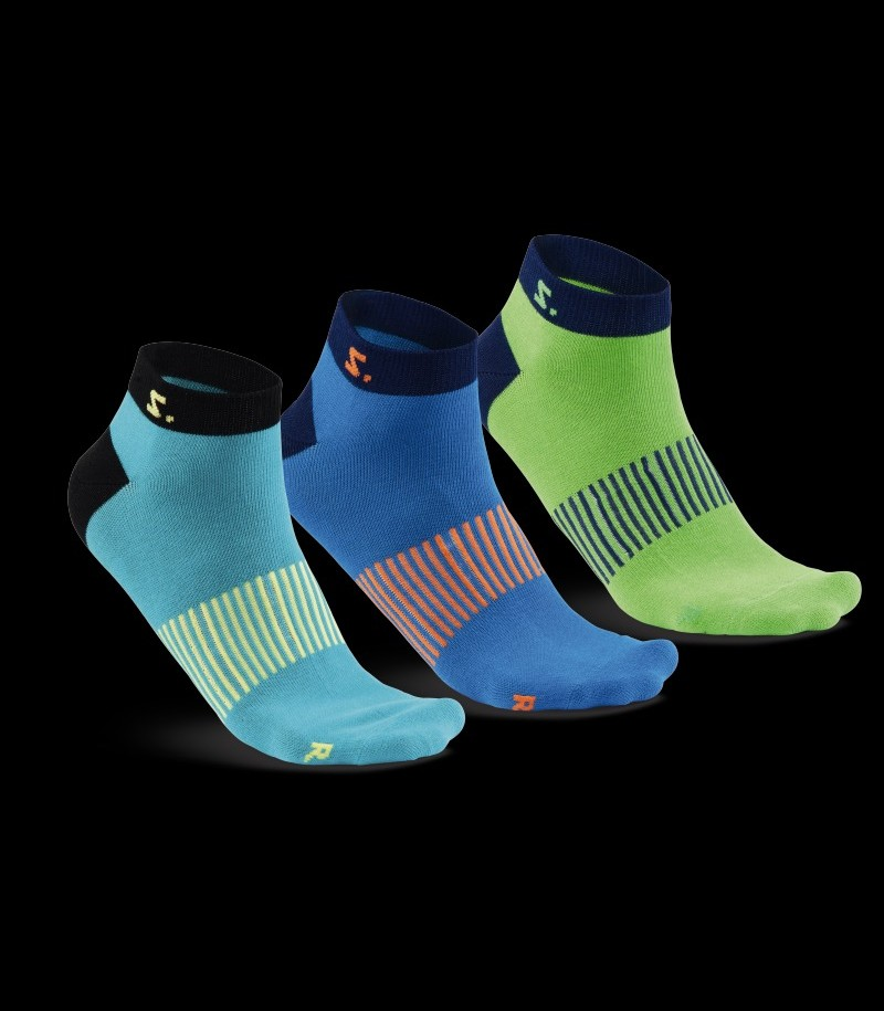 Salming Run Ankle Sock Ceramic Green