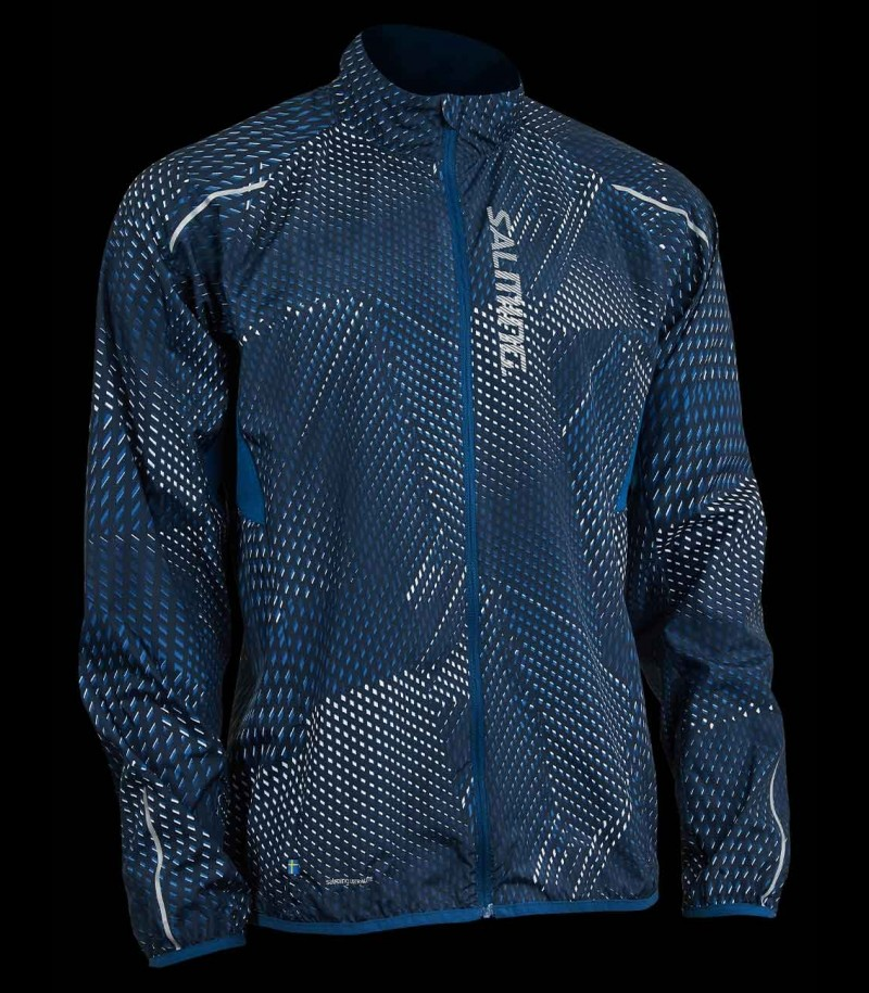 Salming Run Ultralite Jacket Herren 3.0 Blau