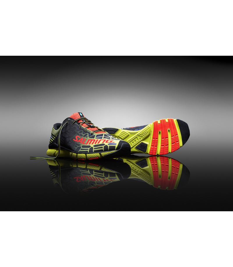 Salming Speed 6 Laufschuh Fluo Yellow/Black