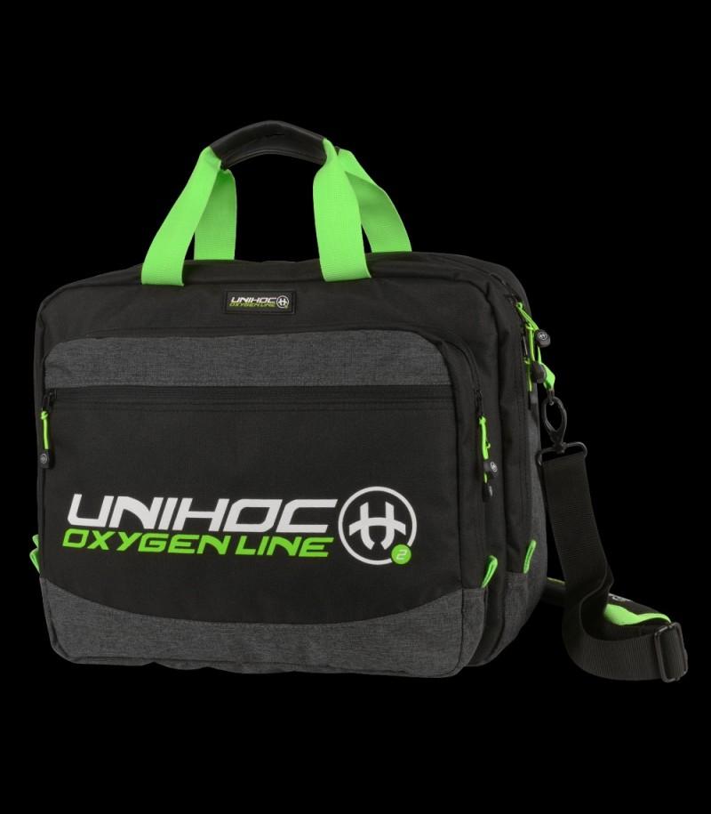 unihoc Computerbag Oxygen Line Schwarz