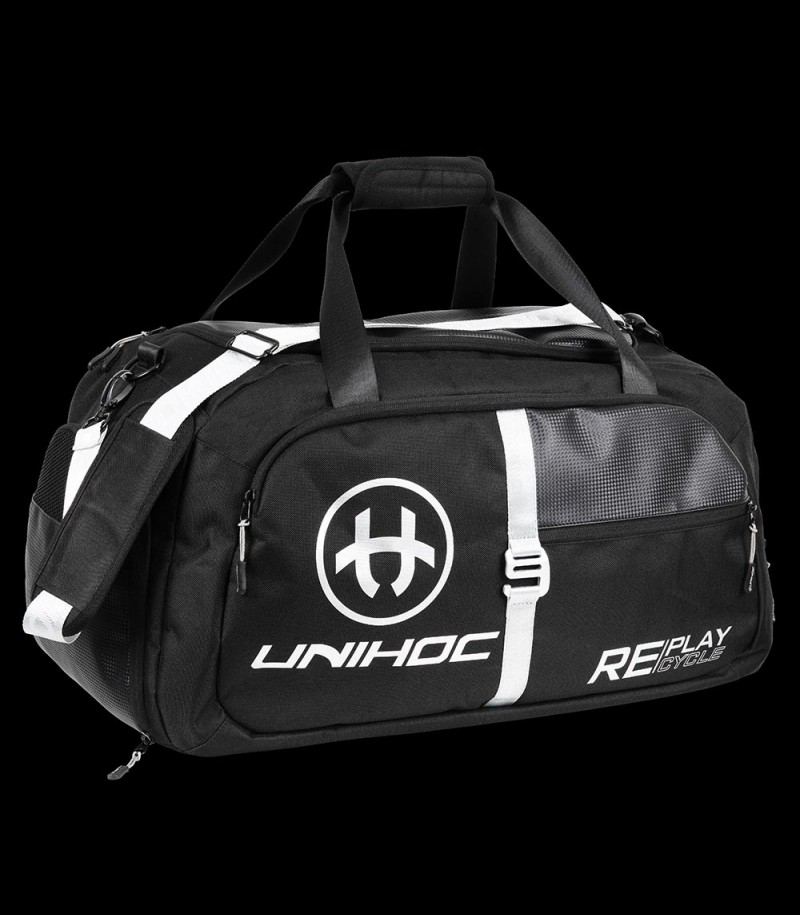 unihoc Sporttasche REPLAY Small black/silver