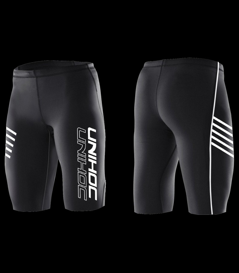 Unihoc Compression Shorts Schwarz