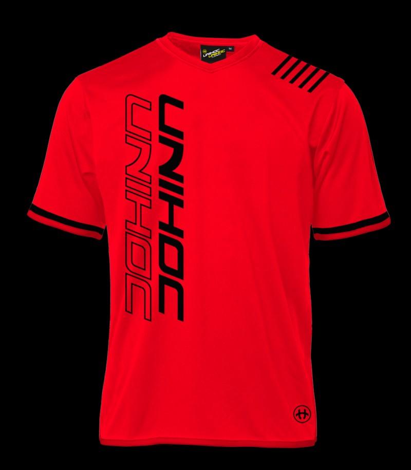 Unihoc Shirt Vendetta Schwarz/Rot