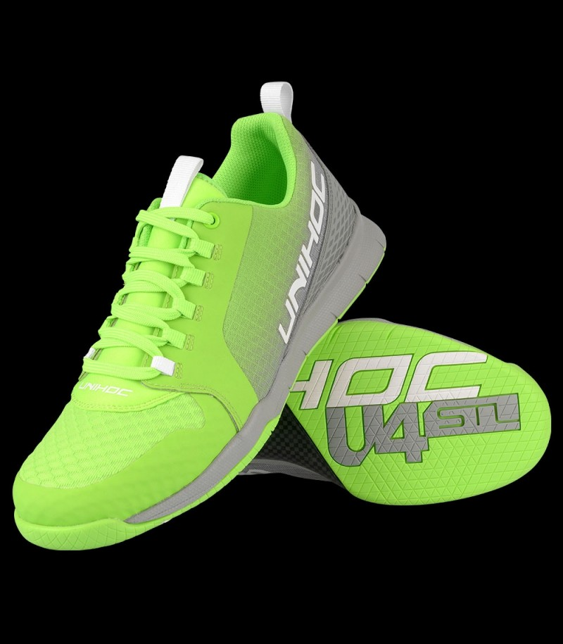 unihoc U4 Plus LowCut Men Grün