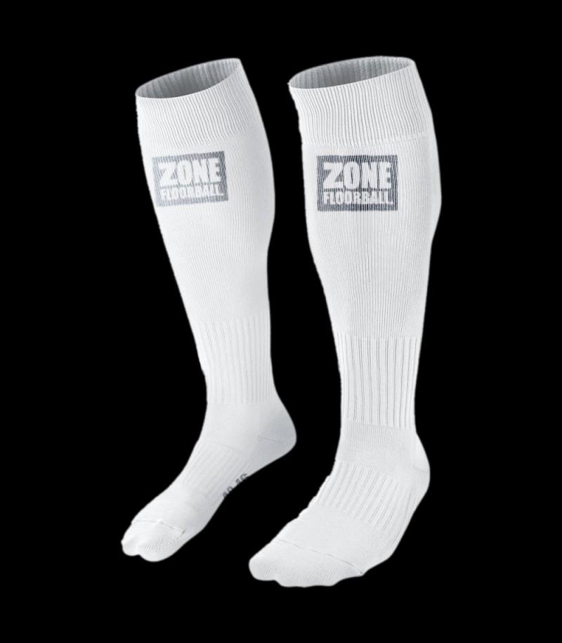 Zone Socken Athlete Weiss