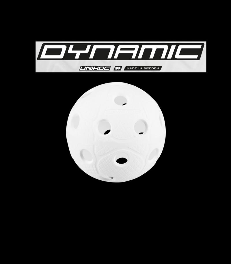 unihoc Matchball Dynamic Weiss