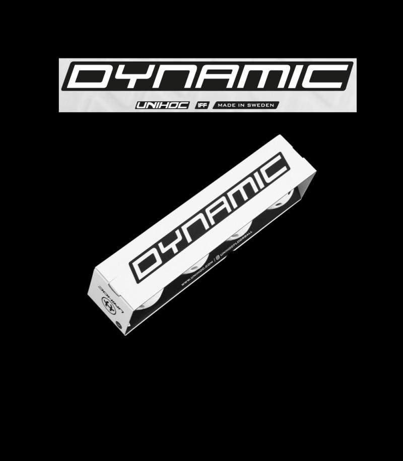 unihoc Matchball Dynamic 4-Pack Bunt