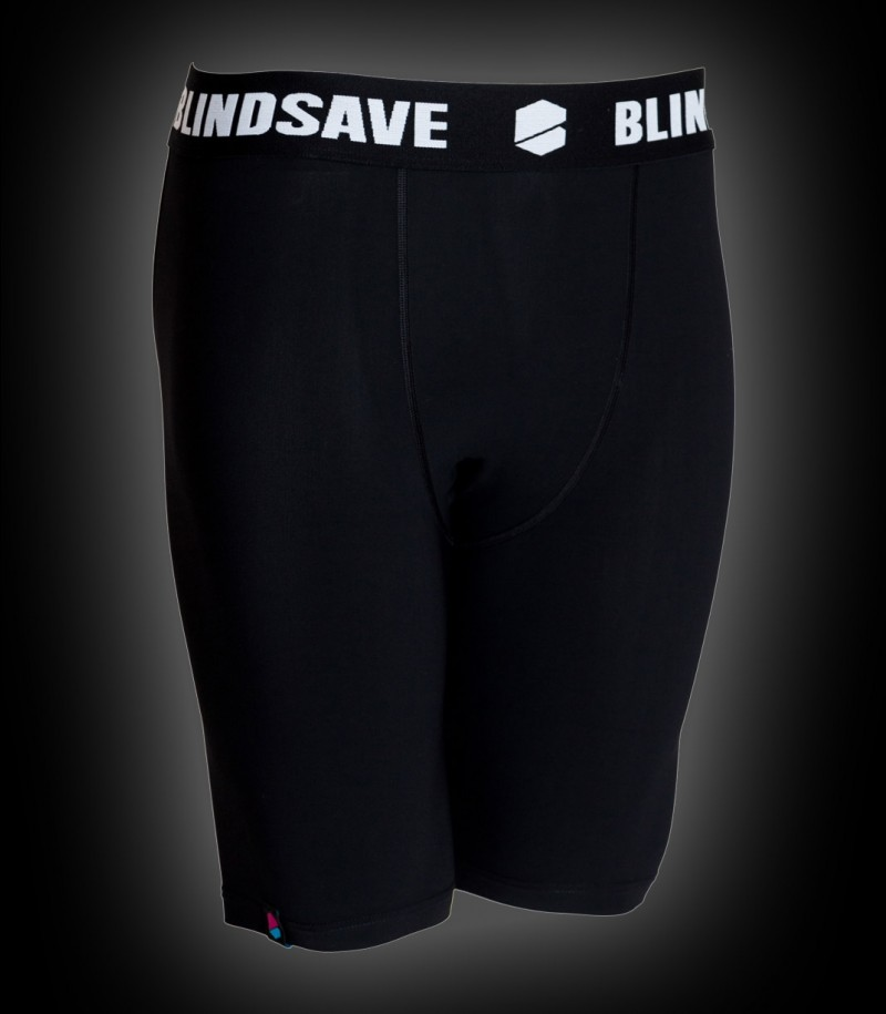 Blindsave Compression Shorts Schwarz