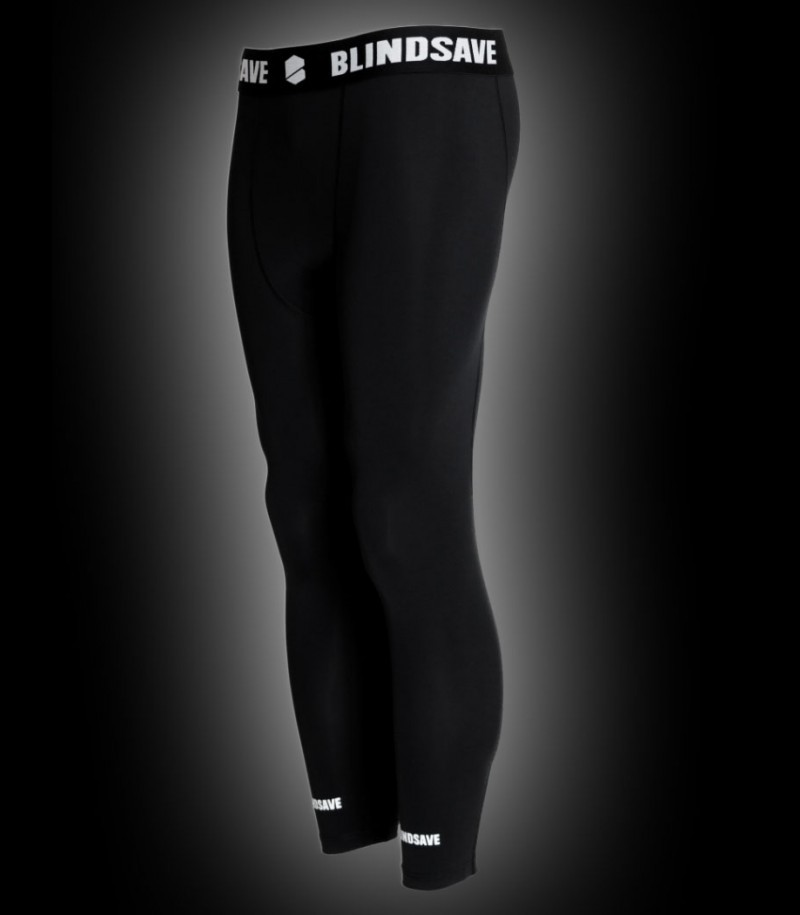 Blindsave Compression Tights Schwarz