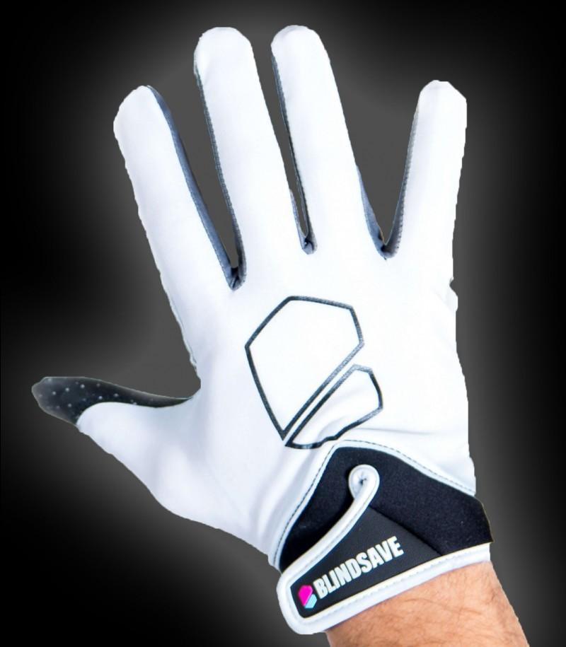 Blindsave Goalie Gloves Supreme White