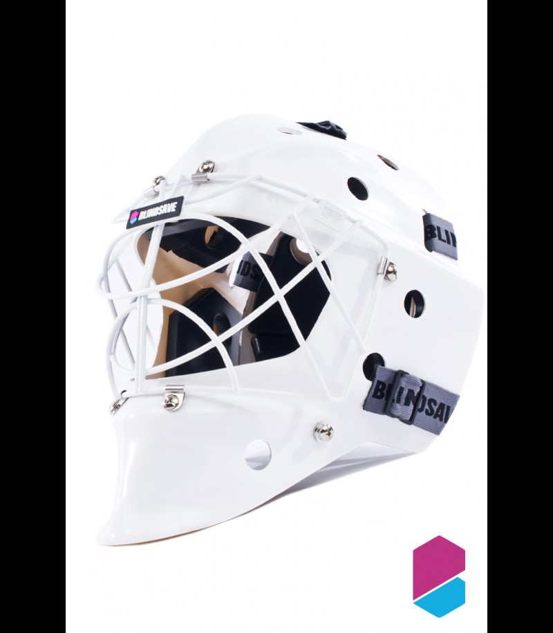 Blindsave Goaliemask White 2017