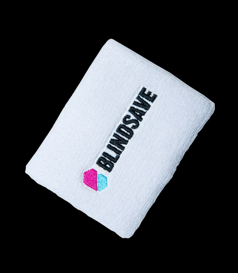 Blindsave Wristband White